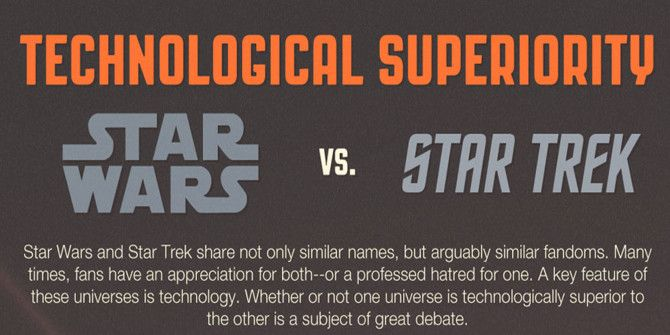 Star Trek and Star Wars: The Battle For Technological Supremacy