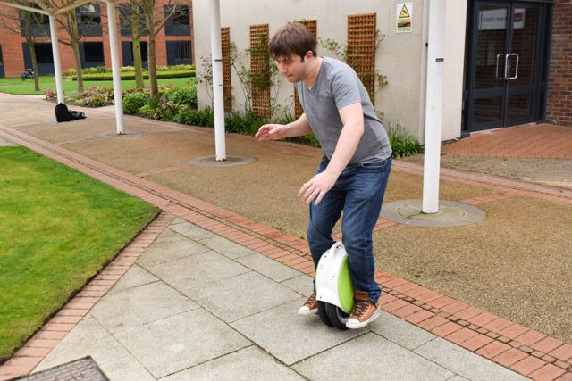 airwheel q5 - balancing