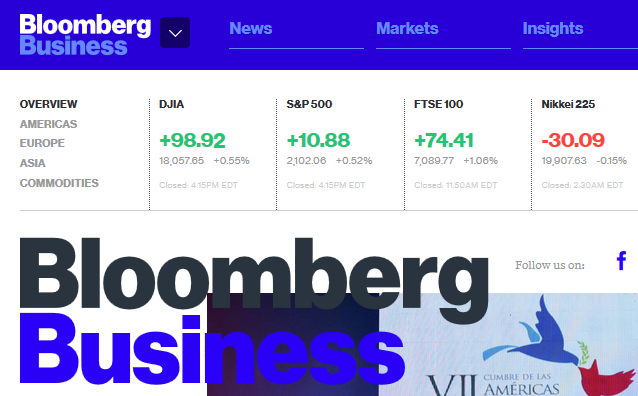 The 6 Best Sites for Keeping Up-to-Date With Financial News bloomberg