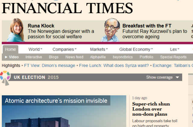 The 6 Best Sites for Keeping Up-to-Date With Financial News financialtimes 640x424