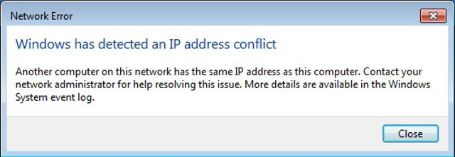 What's an IP Conflict, and How Do You Resolve It?