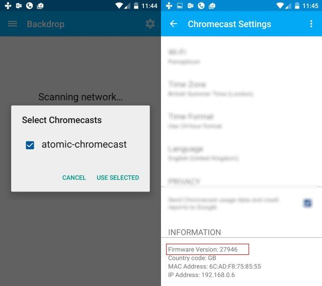 muo-diy-chromecast-root-firmware-version