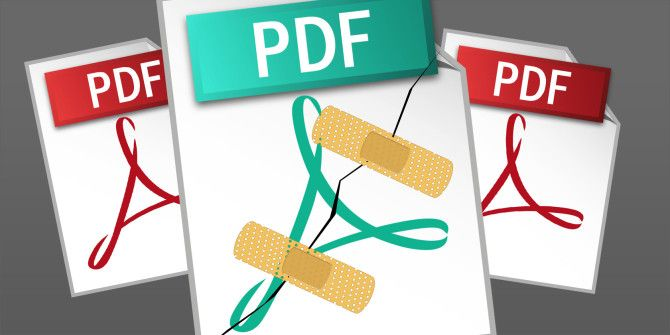 How to Repair or Recover Data From a Corrupted PDF File