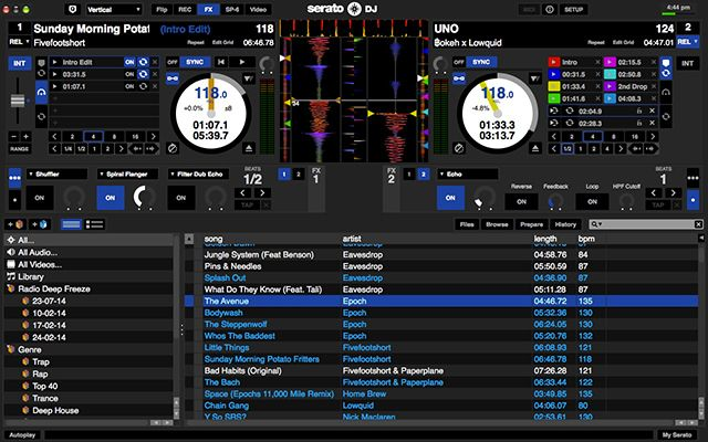 The Best DJ Software For Every Budget serato1