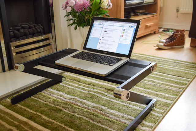 Use Your Laptop Lying Down Super Gorone Desk Review And Competition