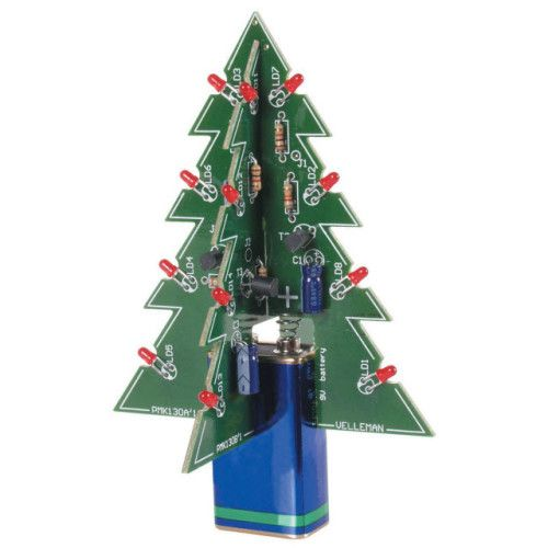 Learn how to solder with these simple tips and projects velleman 3d led christmas tree kit solutioingenieria Image collections