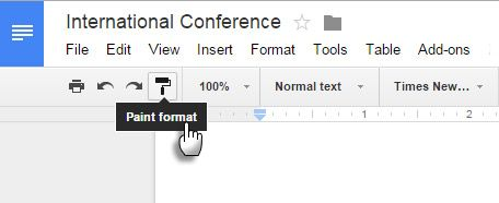 Aplicar formato a múltiples selecciones de texto.