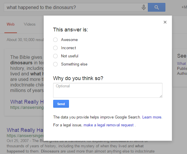 Google-what-happened-to-the-dinosaurs-feedback