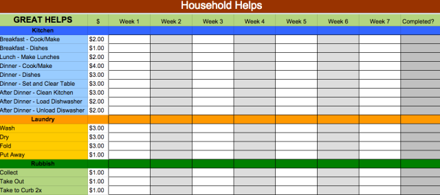 Google Docs Templates That Will Make Your Life Easier - Google sheets schedule template
