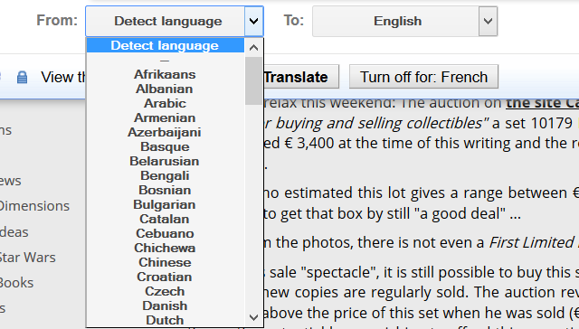 GoogleTranslateBookmarklet