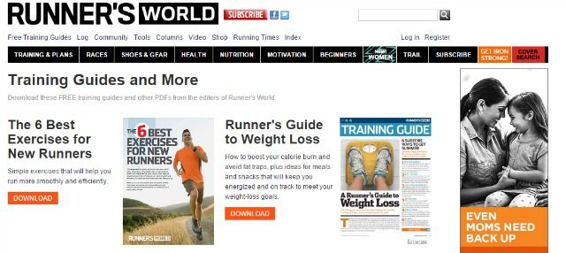 Runners World site