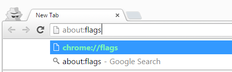 about flags chrome browser