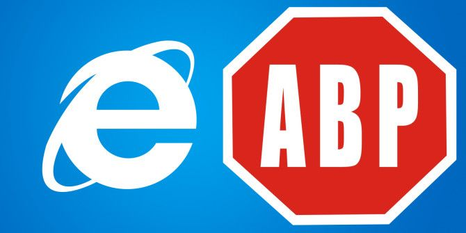 Special Considerations When Using Adblock with Internet Explorer