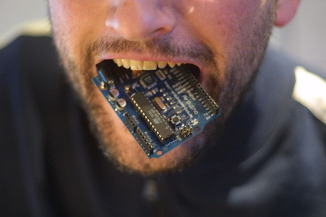 arduino-mouth