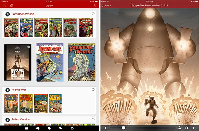 The Best Apps for Reading Comics on Your iPad comiczeal