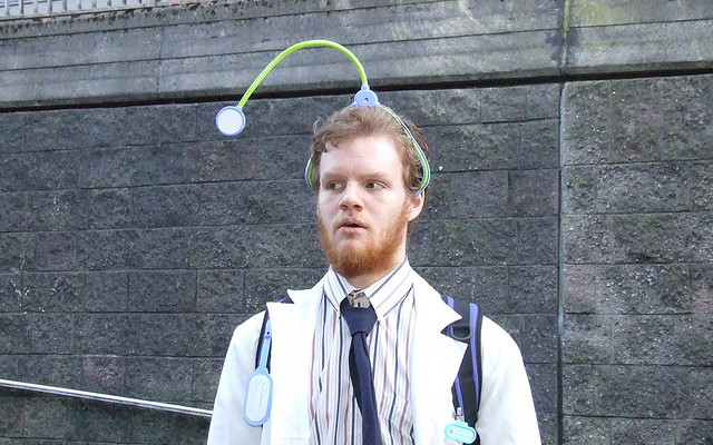 doctor-with-stethoscope-on-head