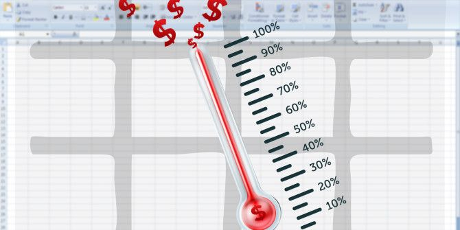 How to Create Your Custom Excel Fundraising Thermometer Template