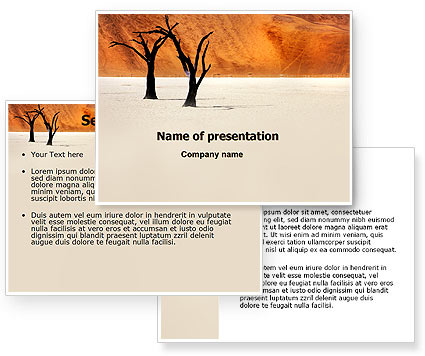 free-powerpoint-template-desert-trees