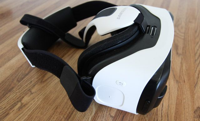 galaxy s6 edge - gear vr side