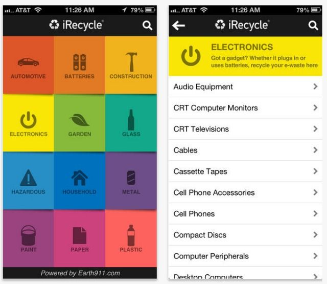 iRecycle app