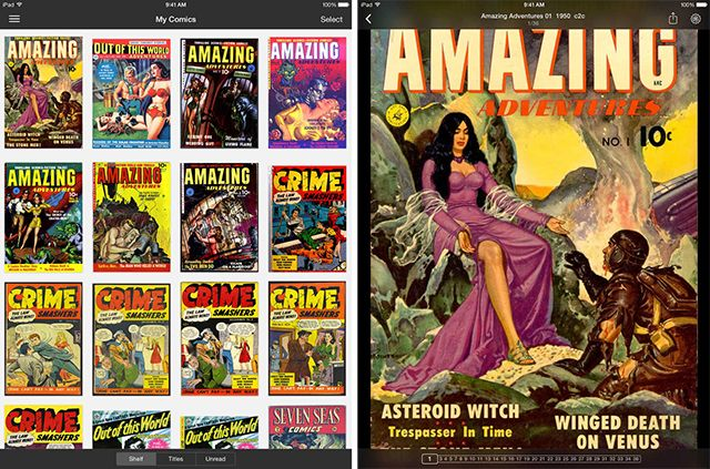 The Best Apps for Reading Comics on Your iPad icomics