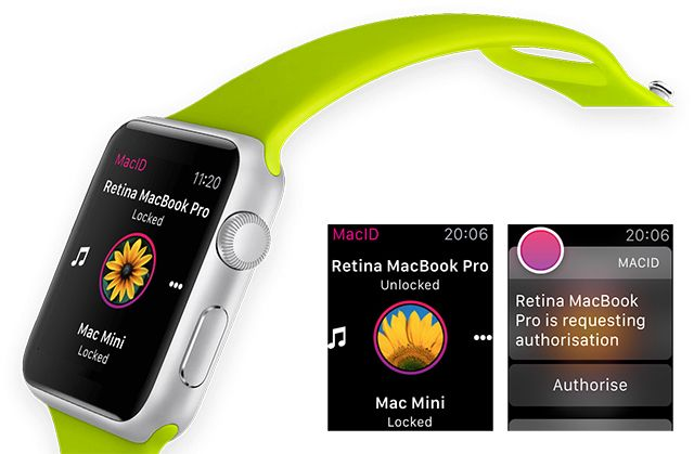 Unlock Your Mac Using Your Apple Watch or Android Wear Device macid watch