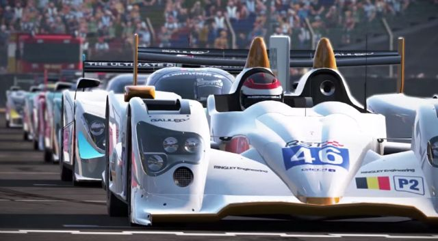 Project Cars Starting Grid