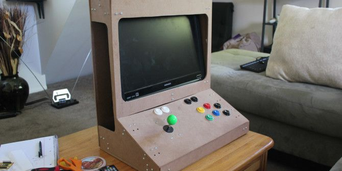 Weekend Project: Build a RetroPie Arcade Cabinet with
