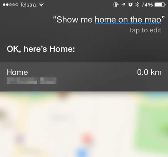 Stop Siri & Notification Center Giving Away Your iPhone Secrets siri map