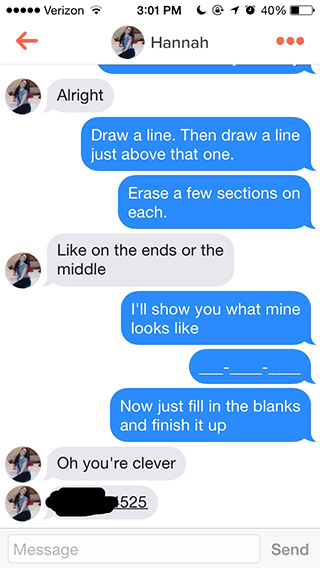 tinder lines that actually work