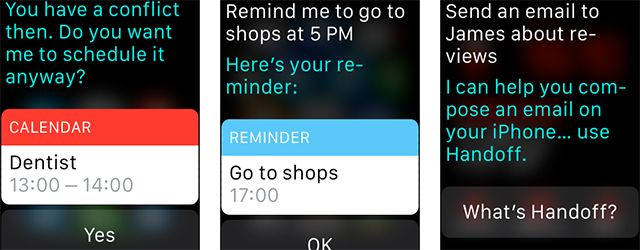 How to Perform Common iPhone Functions on Your Apple Watch watch siri