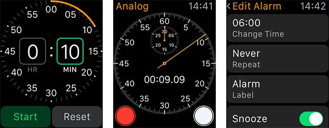 How to Perform Common iPhone Functions on Your Apple Watch watch timers