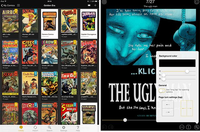 The Best Apps for Reading Comics on Your iPad yacreader