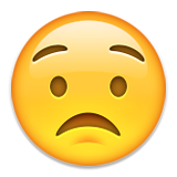 worried concerned emoji emoticon