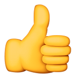 thumbs up emoji emoticon