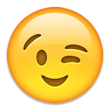 winking cheeky emoji emoticon