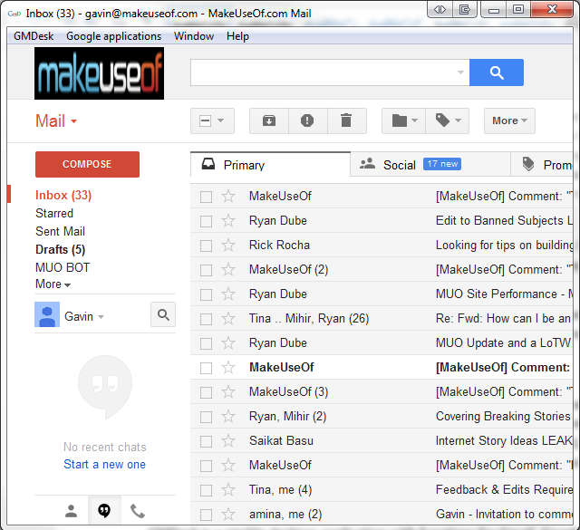 How To Read Google Mail On Your Desktop