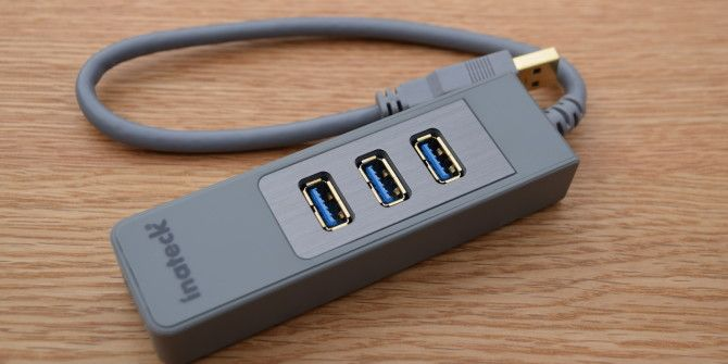 Inateck 3-port USB Hub and KM Switch Review and Giveaway