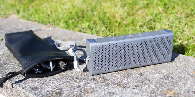 Inateck MercuryBox Portable Speakers Review and Giveaway