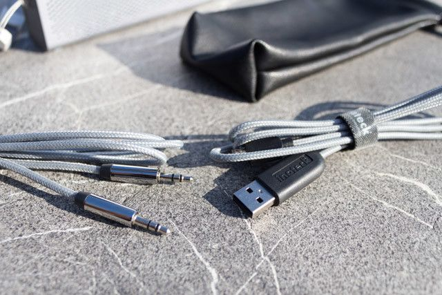 Inateck MercuryBox - high quality cables