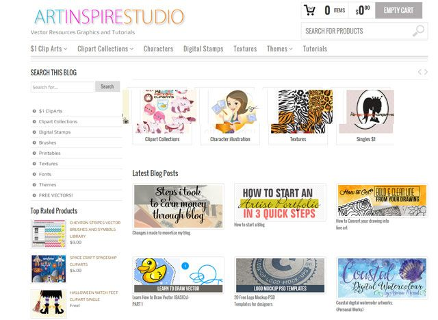 Art Inspire Studio:Learning Illustrator