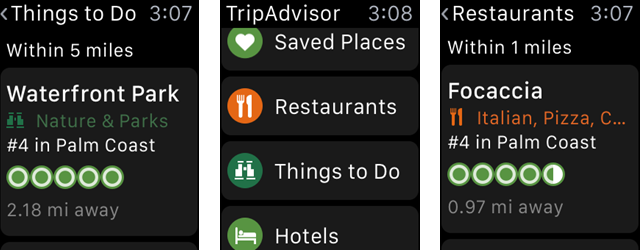 18 Travel Apps for Apple Watch Explorers TripAdvisorWatch