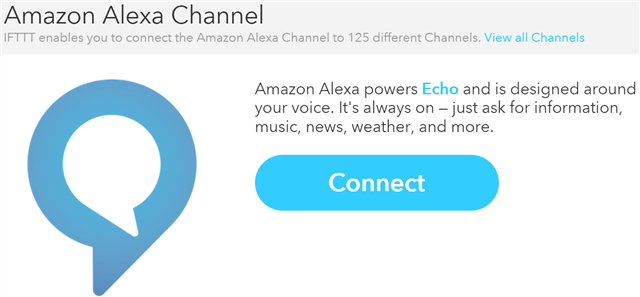amazon echo ifttt receipes