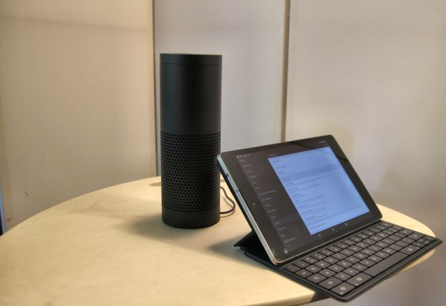 amazon echo with tablet