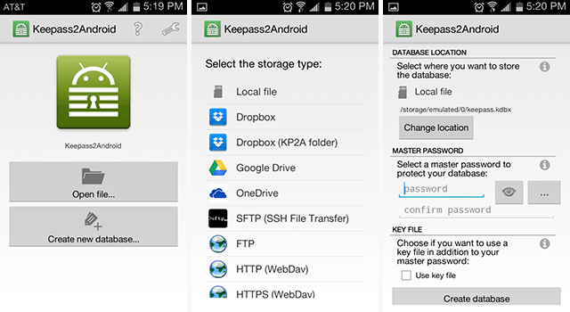 android-password-managers-keepass