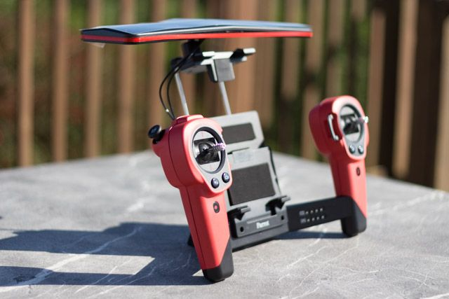 bebop drone and sky controller - sky controller overview