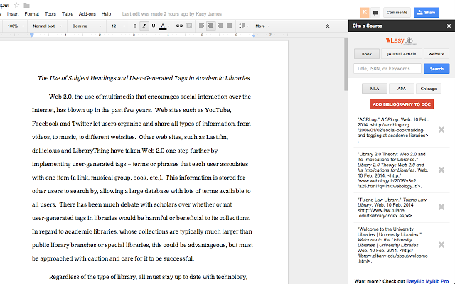 Google Docs vs. Microsoft Word: The Death Match for Research Writing easybib 640x400