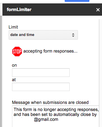 Supercharge Your Google Forms and Get More out of Them formlimiter2b