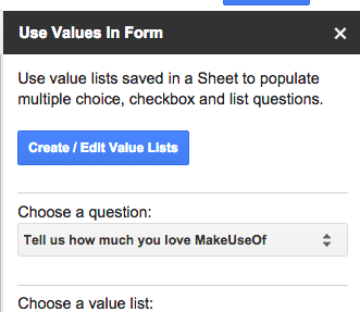 Supercharge Your Google Forms and Get More out of Them formvalues
