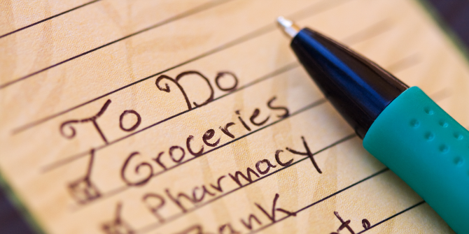 How a Public To-Do List Can Work for You If Nothing Else Does